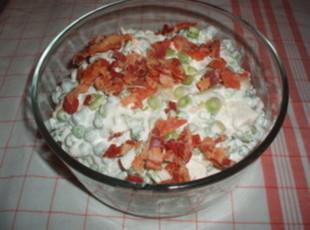 Crunchy Pea Salad Recipe