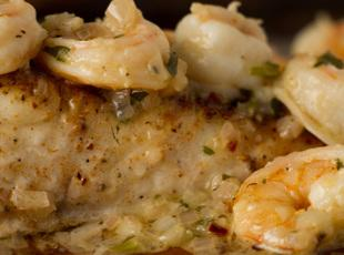 Orange Baked Fish and Shrimp Recipe