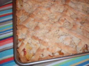 Bake And Take Peach Coffee Cake Recipe