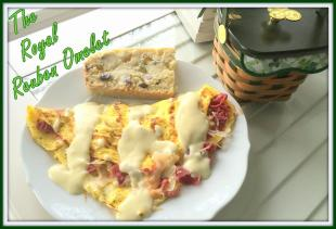 The Royal Reuben Omelet! Recipe