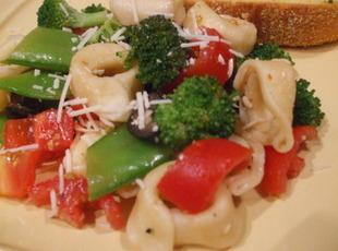 Cheese Tortellini Salad At Its Best Recipe