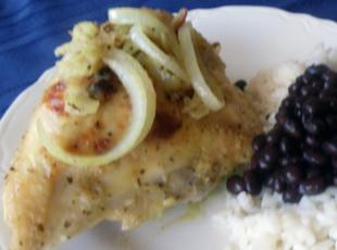 Cuban Chicken with Mojo (Pollo con Mojo) Recipe