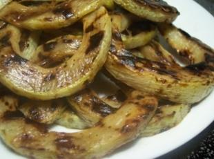 Grilled Zucchini Rings Recipe