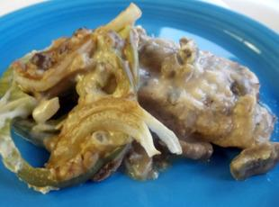 Grilled Roast Smothered with Mushroom Gravy Recipe