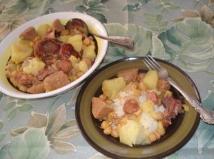 Mima's Spanish Chick Pea Pottage (Potaje de Garbanzos) Recipe