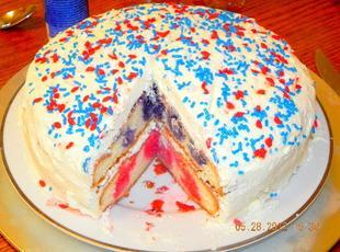 4th of July Cake Recipe