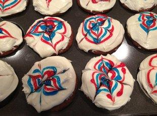 Jody's 4th of July Cupcakes Recipe