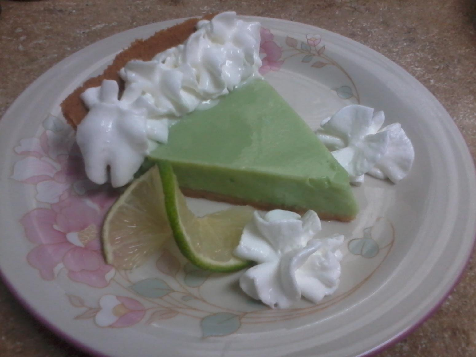 Cool Key Lime Pie Recipe