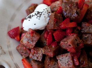 Strawberry Panzanella Salad Recipe