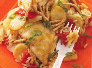 Asian pineapple chicken