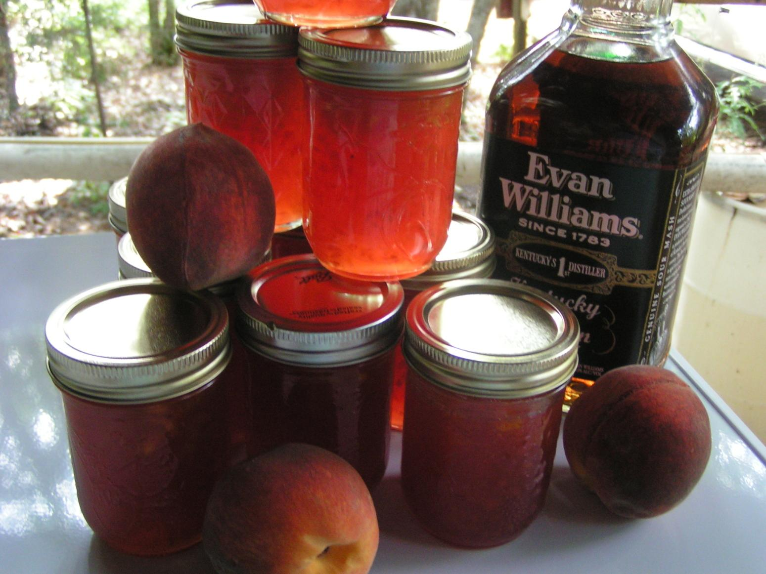 Bourbon Peach Jam Recipe
