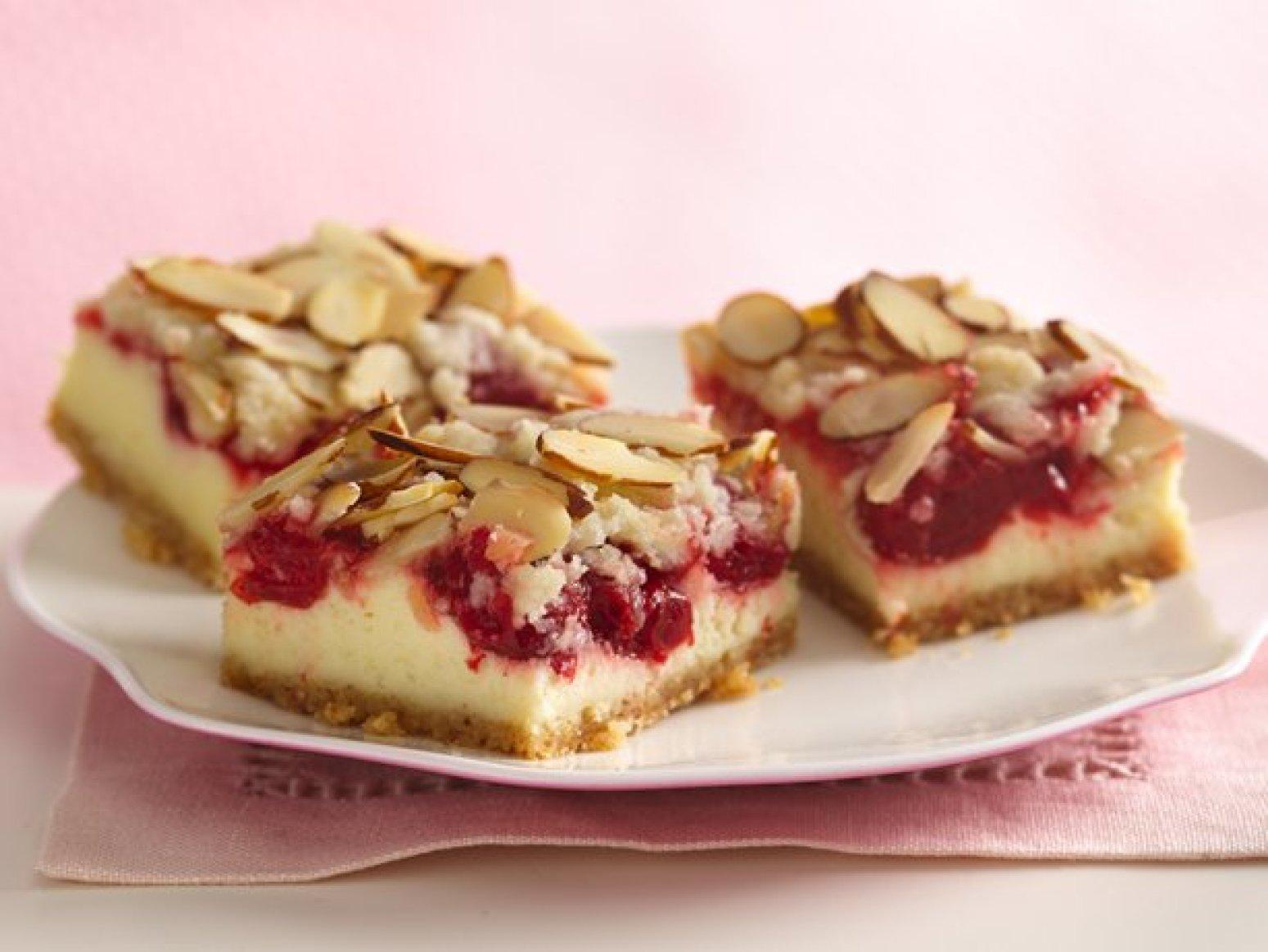 Cherry Cream Cheese Bars Recipe