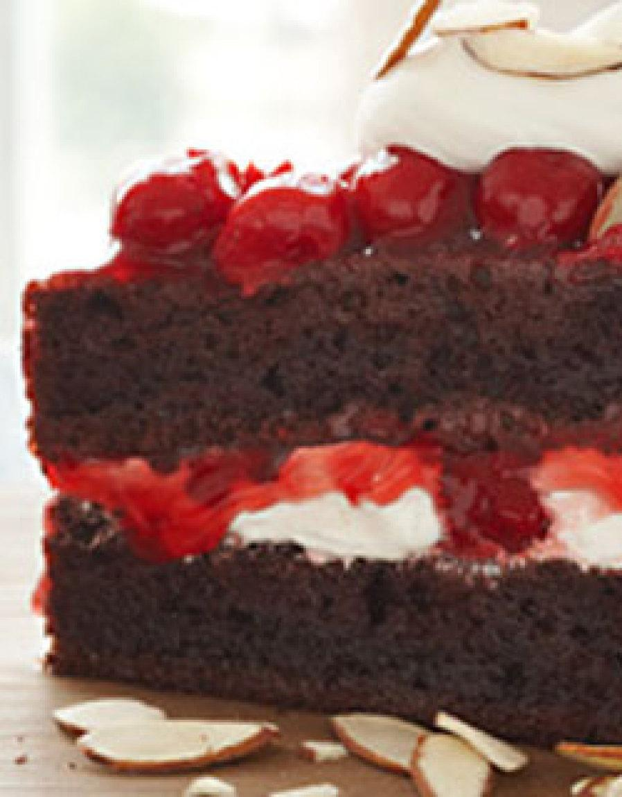 Chocolate Cherry Torte Recipe
