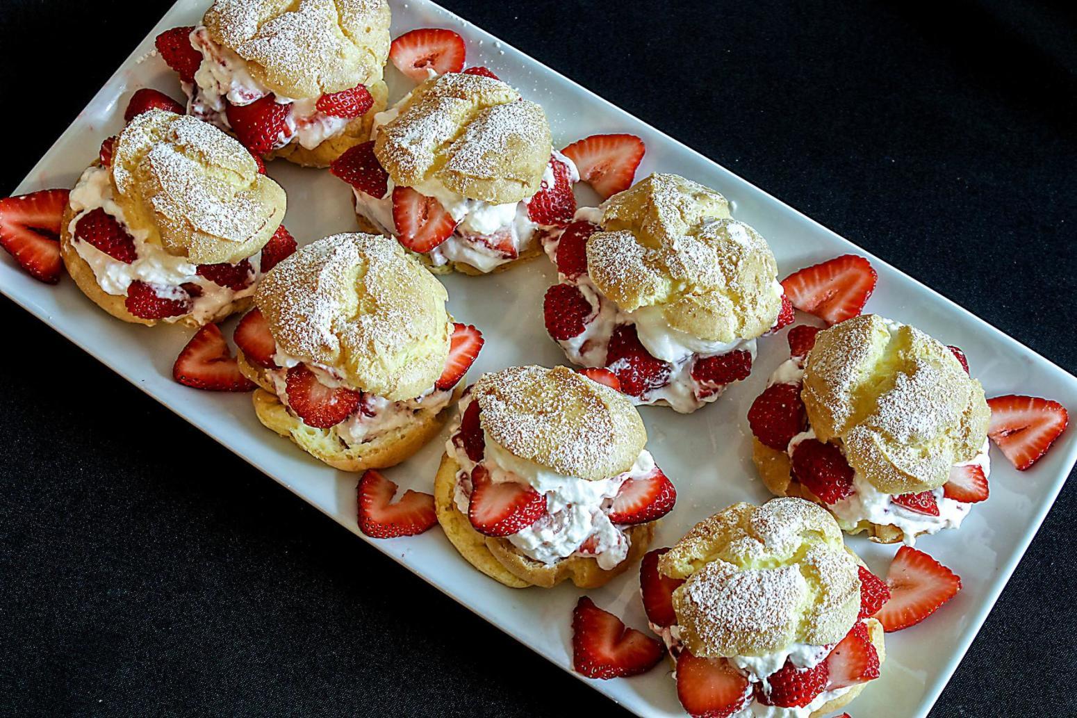 Strawberry Cream Puffs Recipe