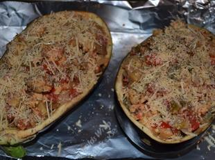 Stuffed Eggplant Italiano Recipe