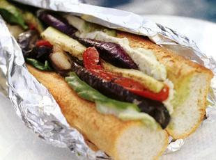 Chargrilled  Vegetable Loaf Recipe