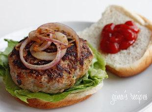 Zucchini Turkey Burgers Recipe
