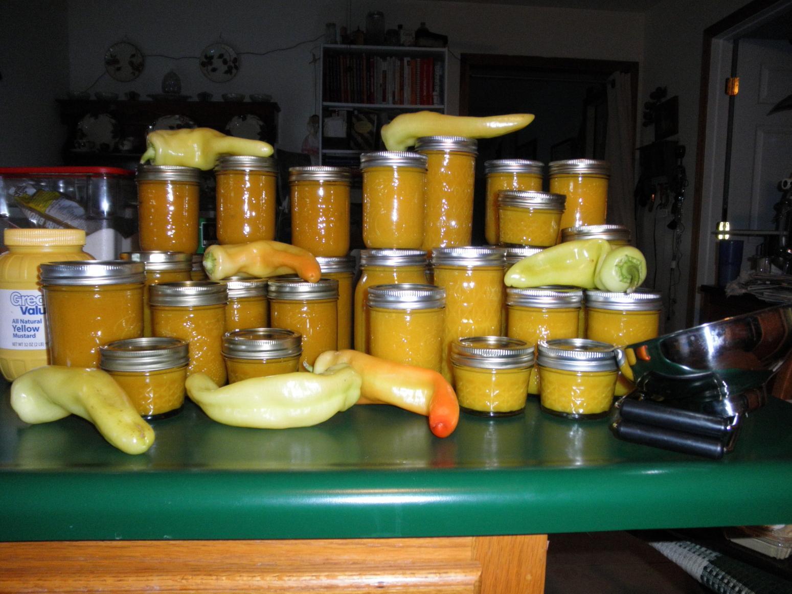 Hot pepper Mustard Recipe