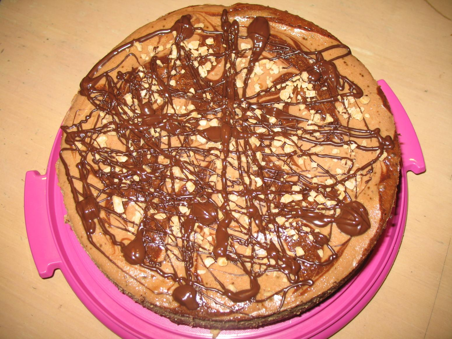 Brownie Swirl Cheesecake Recipe | Just A Pinch Recipes