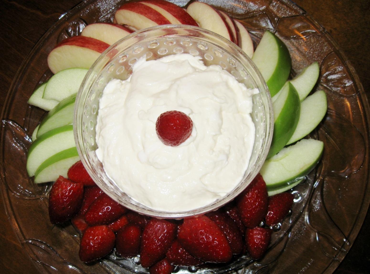 Nina's Fruit Dip Recipe