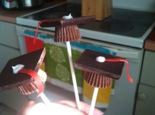 Graduation Cap Lollipops Recipe