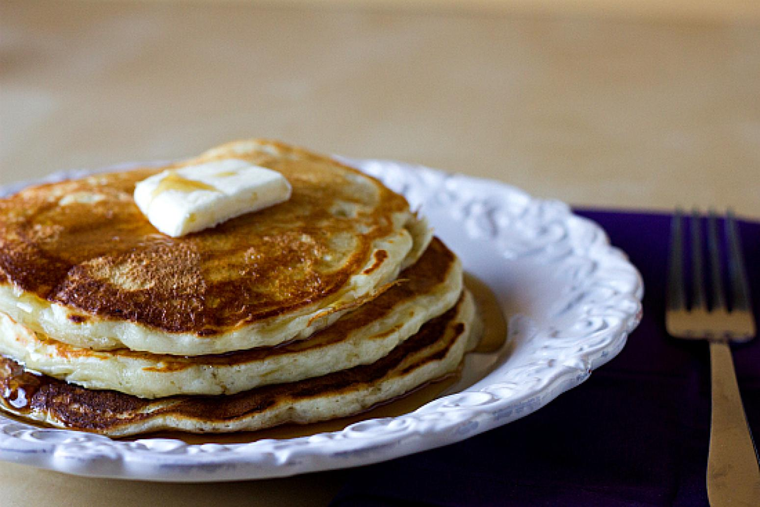 Amazing Buttermilk Pancakes Recipe