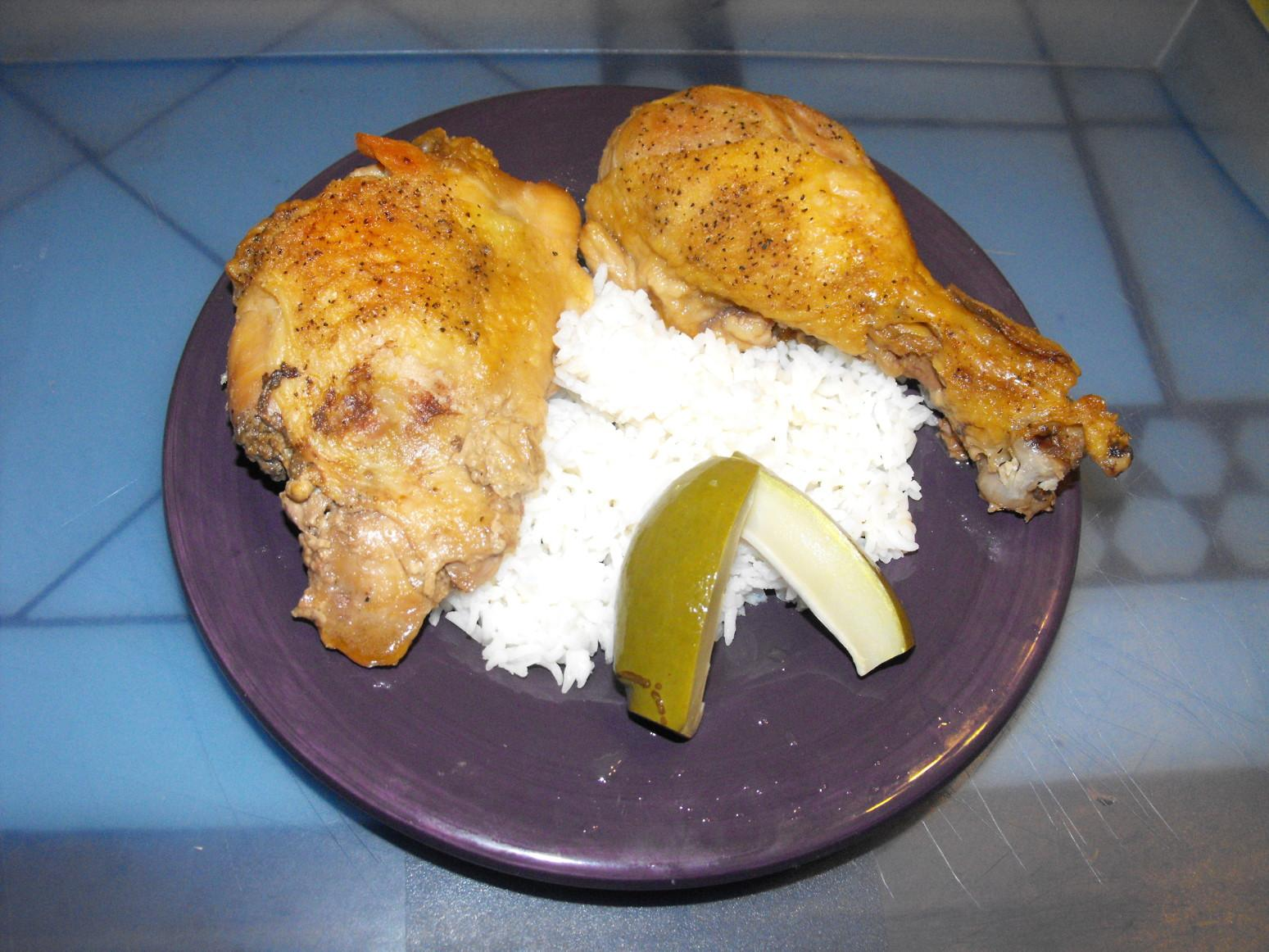 Oven Adobo Chicken Recipe