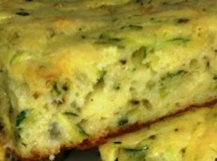 Savory Zucchini Squares-Annette's Recipe