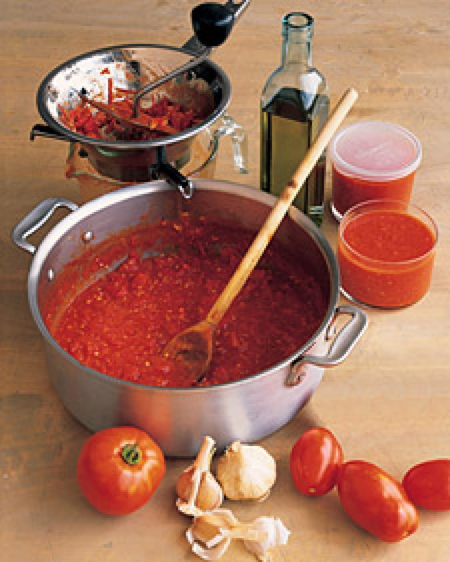 Simple Tomato Sauce Recipe | Just A Pinch Recipes
