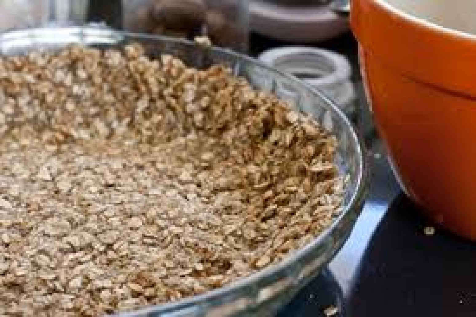 Pecan  Oatmeal Crust Recipe