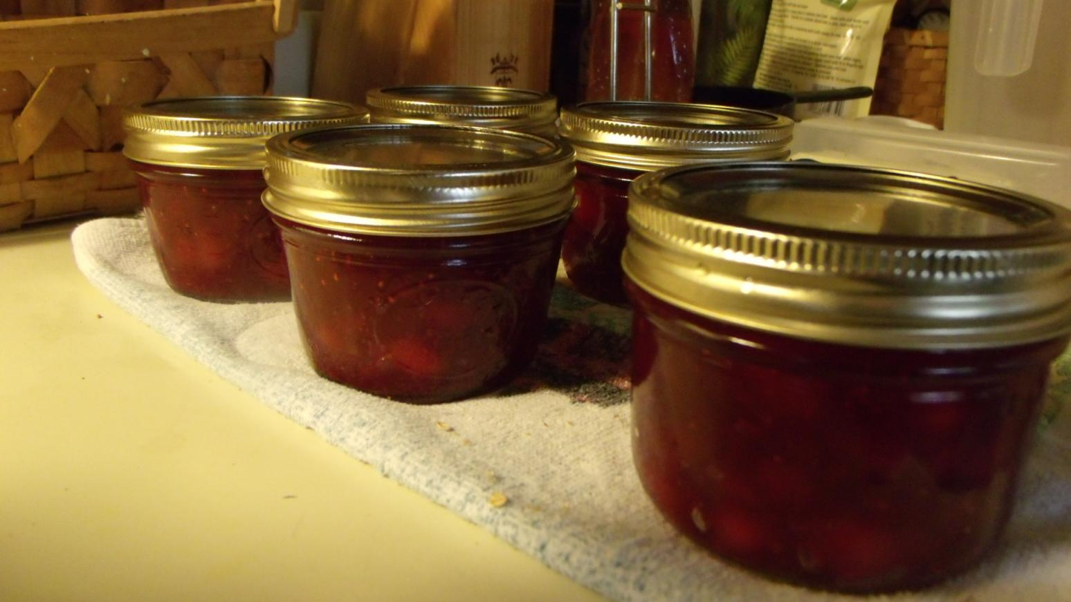Cranberry Pear Jam Recipe