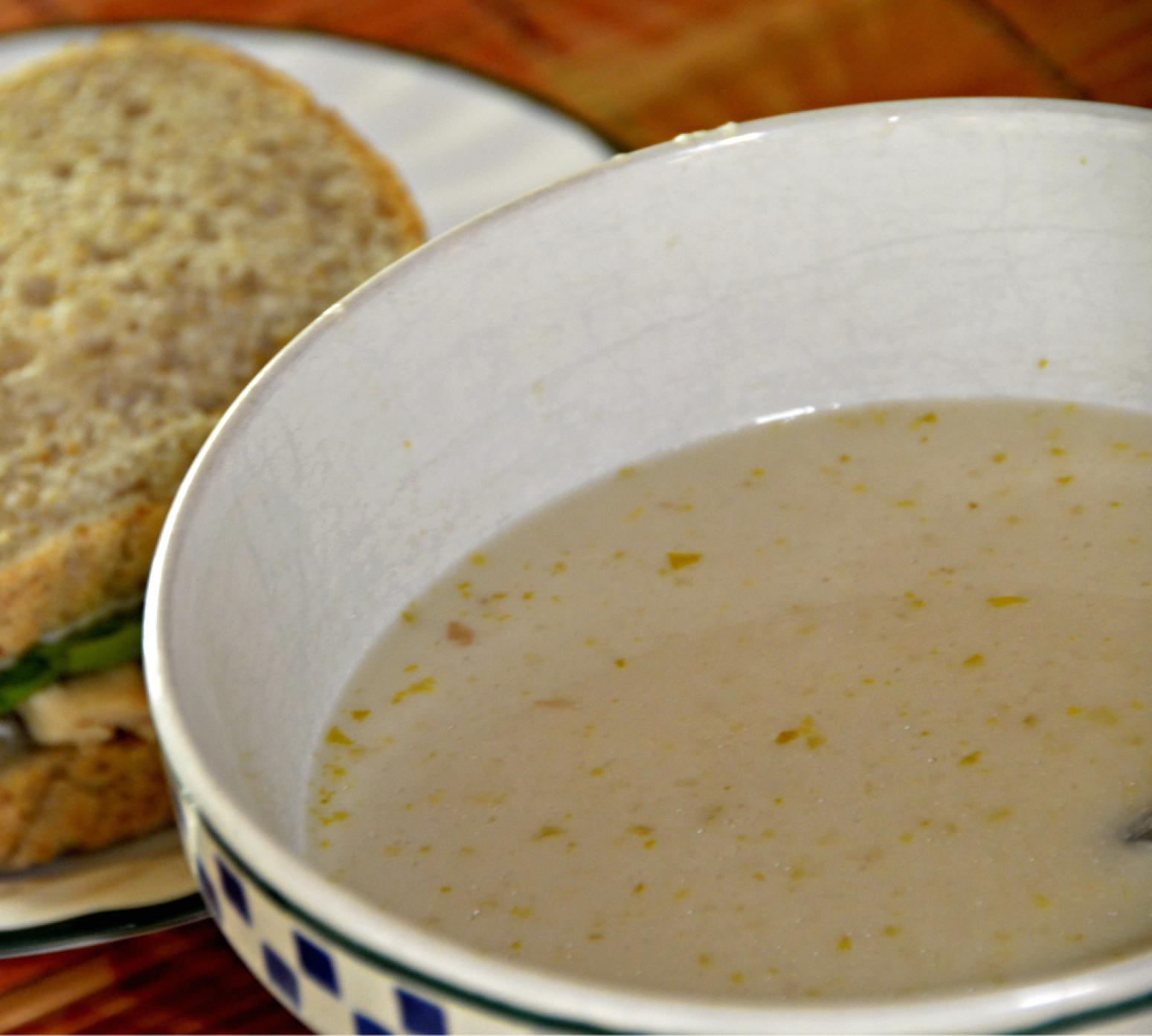 Cream of Celery Soup with Madeira Wine Recipe