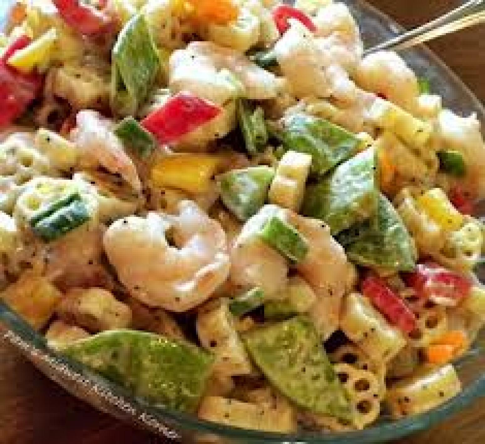Calico Cauliflower Pasta Salad Recipe