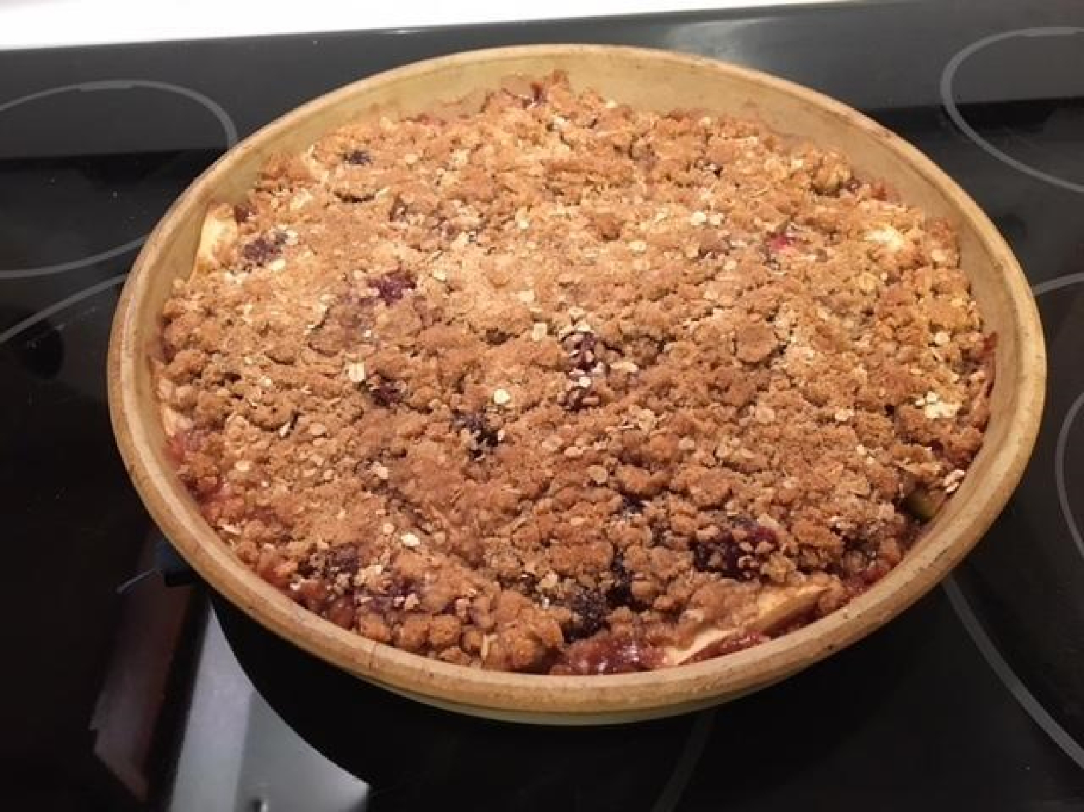 Cranberry Apple Crisp Recipe