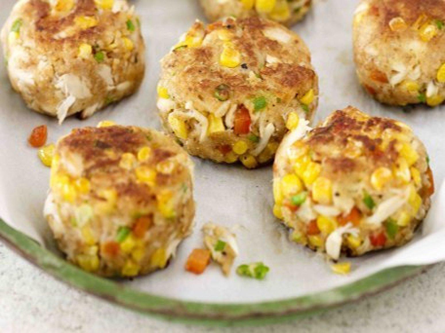 Crab and Corn Cakes Recipe | Just A Pinch Recipes