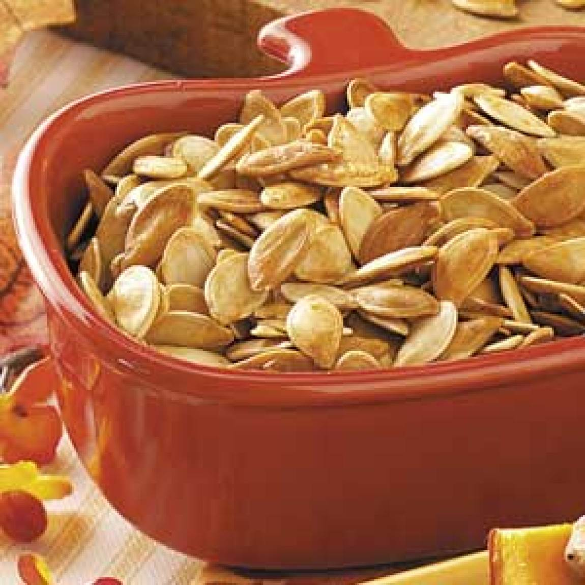 Roasted Pumpkin Seeds Recipe | Just A Pinch Recipes