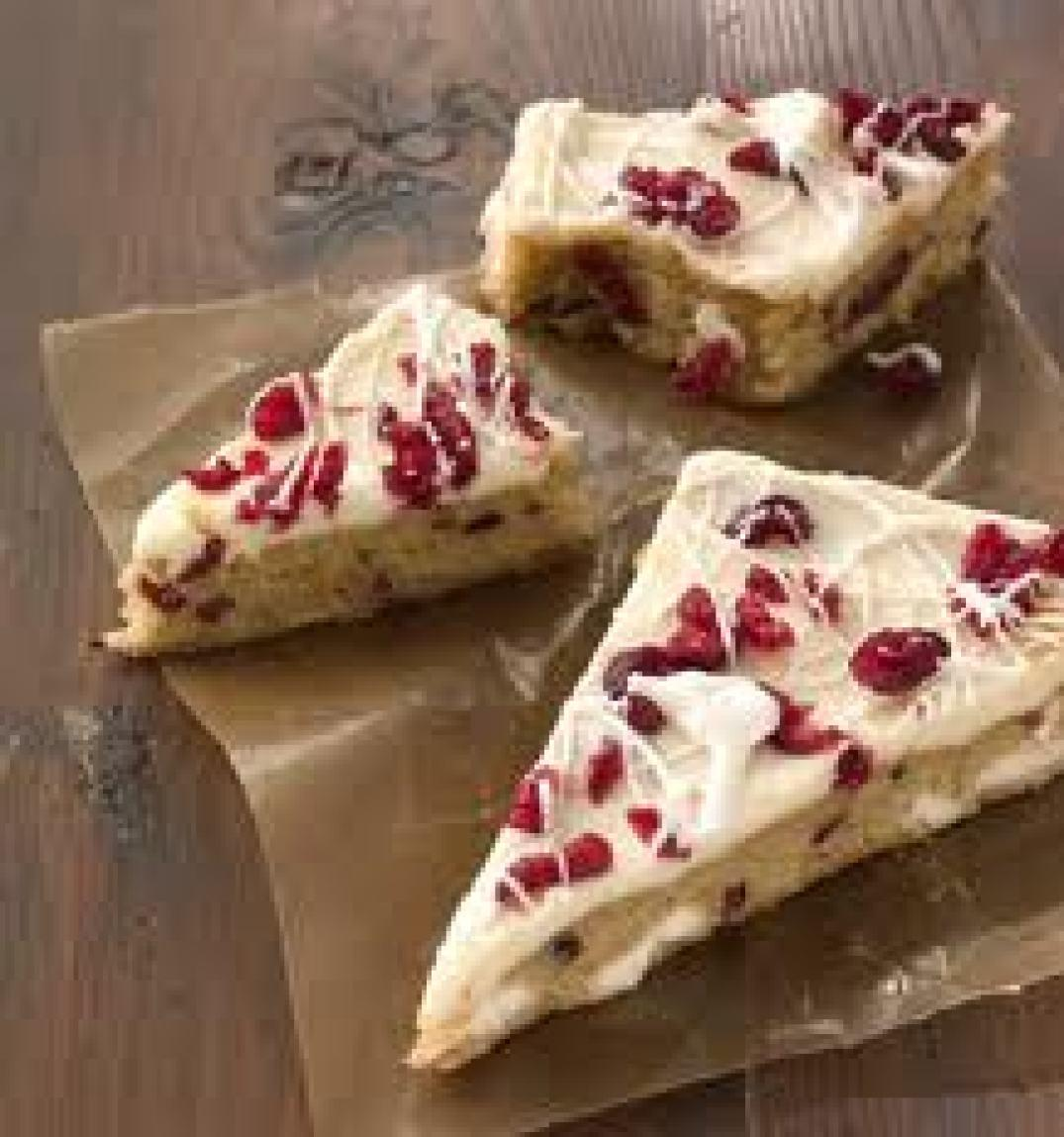 Cranberry Bliss Bars / Starbuck's Recipe