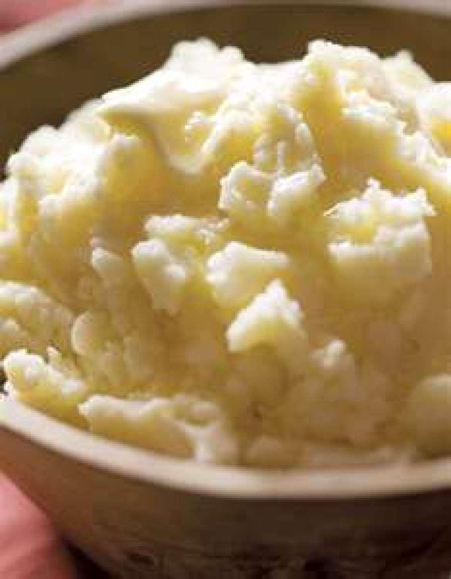 Secret Mashed Potatoes (courtesy 4* Chef) Recipe