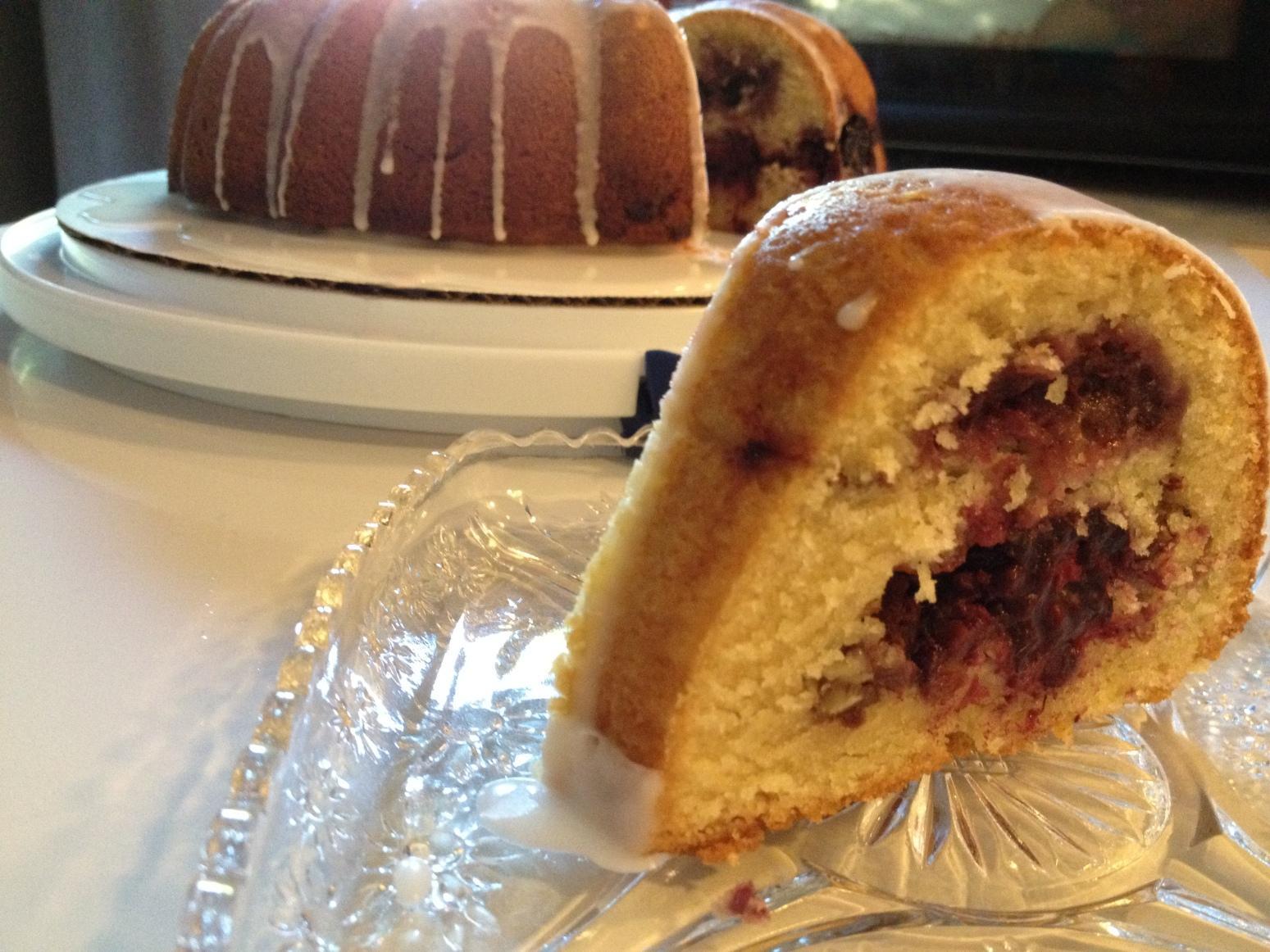 Blackberry Coffee Cake Recipe