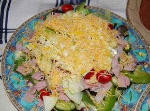 Mom's Chef Salad Recipe