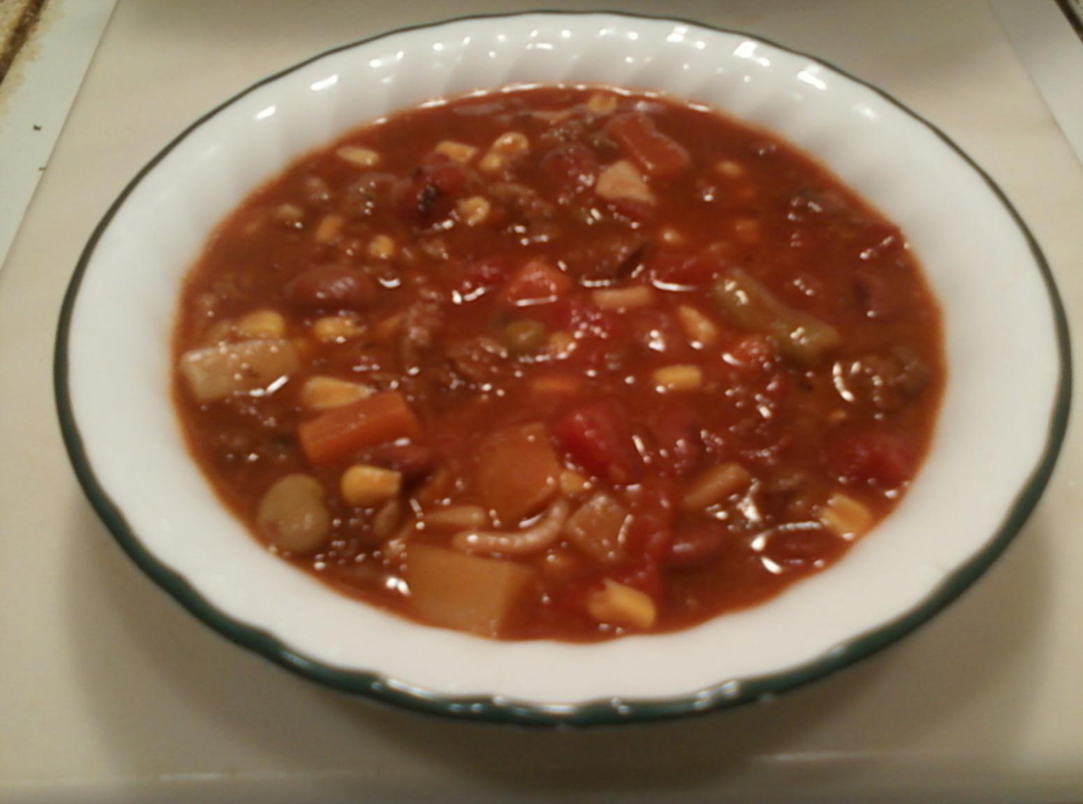 Crockpot 8 Can Soup Recipe