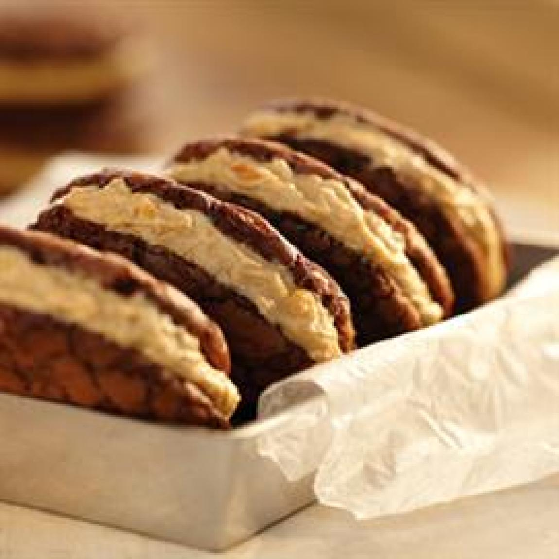 Peanut Butter Whoopie Pies Recipe | Just A Pinch Recipes