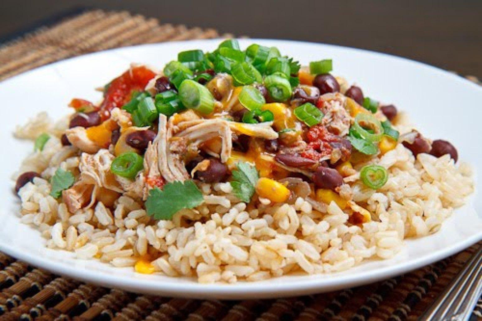 Crockpot Chicken Santa Fe Recipe | Just A Pinch Recipes