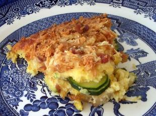 Giant Zucchini-Corn Fritter Recipe