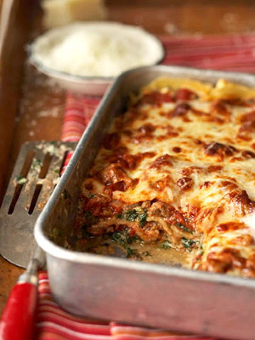 Florentine Lasagna Recipe   Just A Pinch Recipes