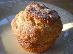 Spiced Egg Nog Muffins