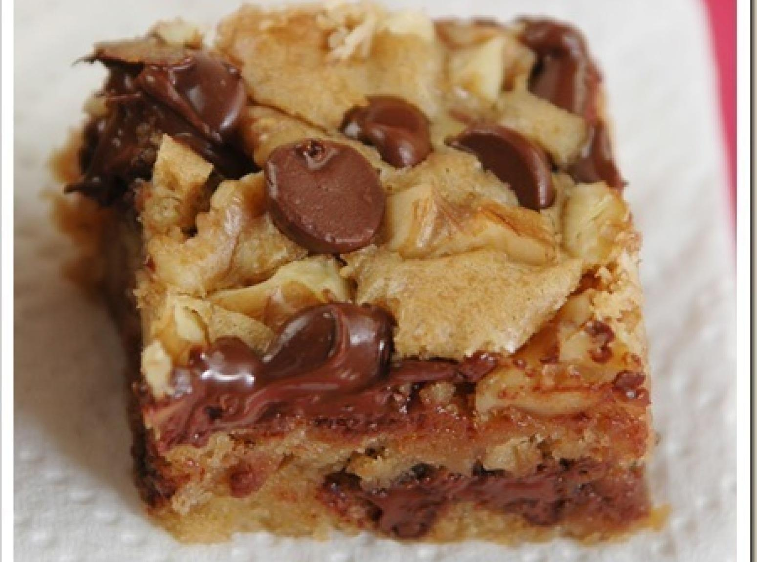 Blonde Brownies Recipe 3 | Just A Pinch Recipes