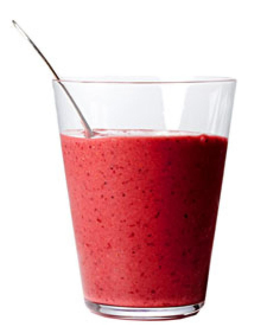 Orange-Berry Smoothie Recipe | Just A Pinch Recipes