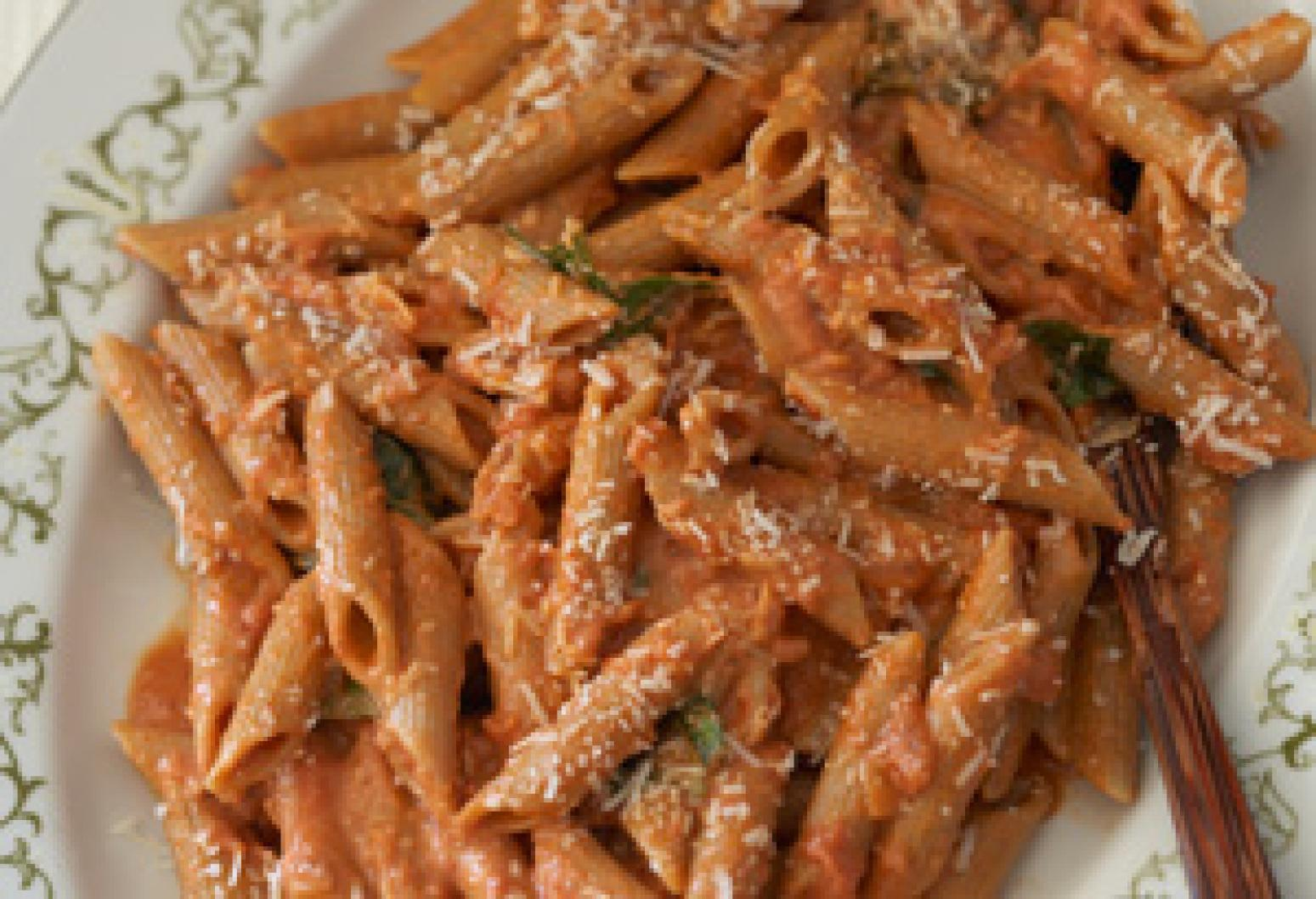Penne Alla Vodka Recipe 2 | Just A Pinch Recipes