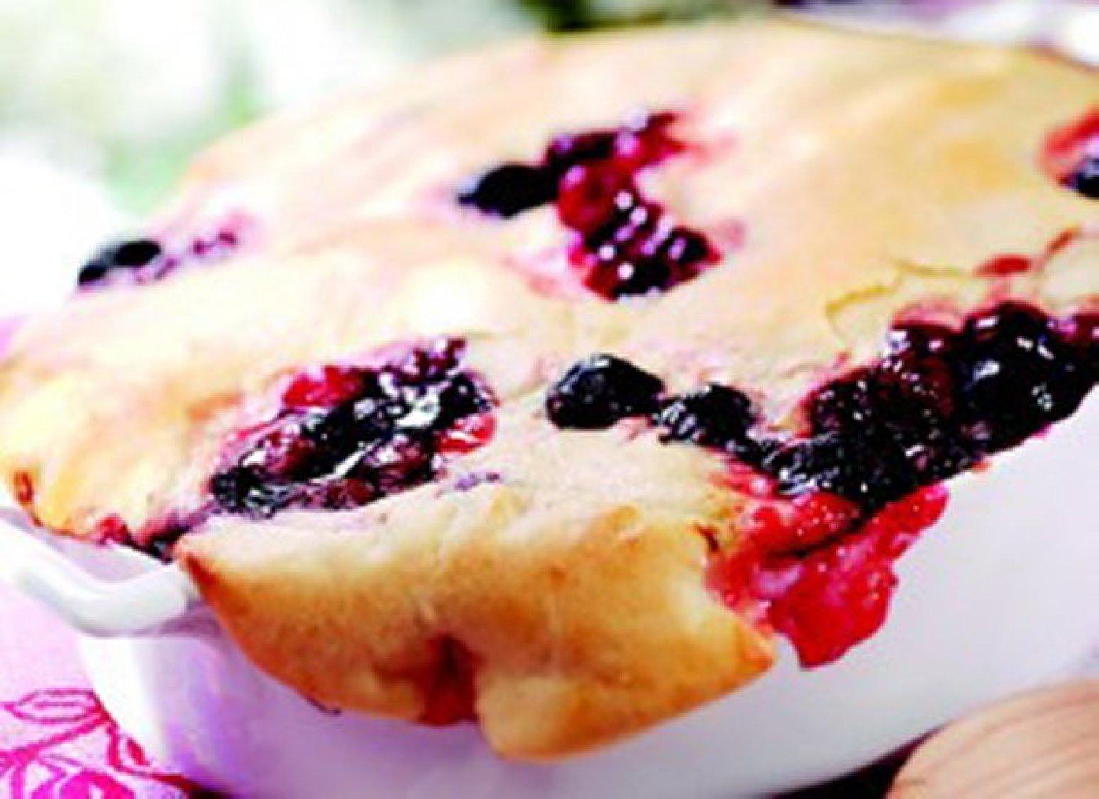 Skillet Cherry Cobbler Recipe | Just A Pinch Recipes